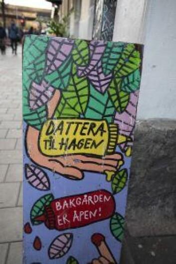 Dattera til Hagen åpnet i 2002, og er blitt et knutepunkt på Grønland. Foto: Olav Helland