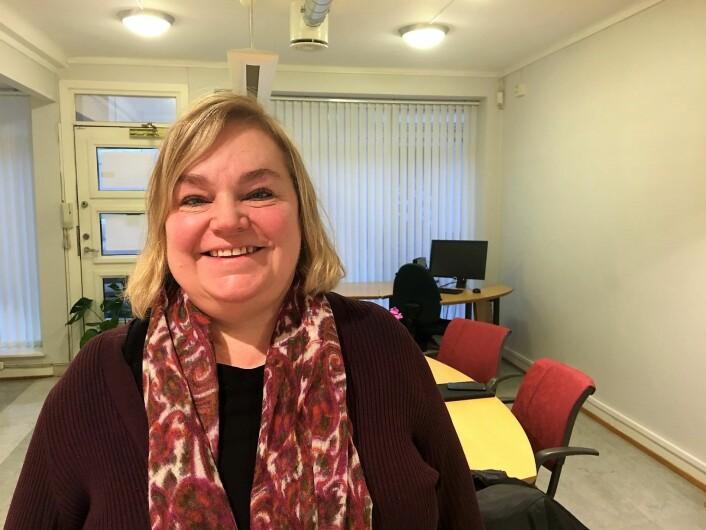 Psykolog Cecilie Fronth Nyhus er prosjektleder for den nye satsingen for unge som sliter mer psyke og rus. Foto: Vegard Velle