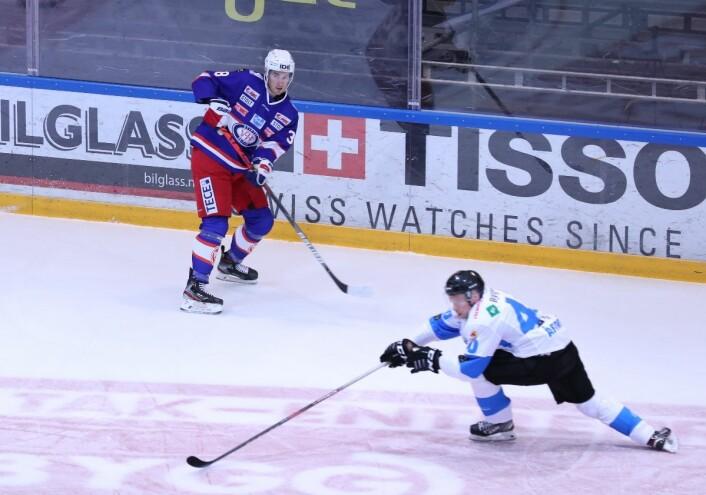 Andreas Stene kunne blitt brukt bedre i kampen mot Manglerud. Foto: Atle Enersen