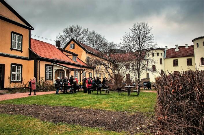 Prinds Chrisian Augusts Minde var en gang i tiden en herskapsgård. Foto: Henrique Kugler