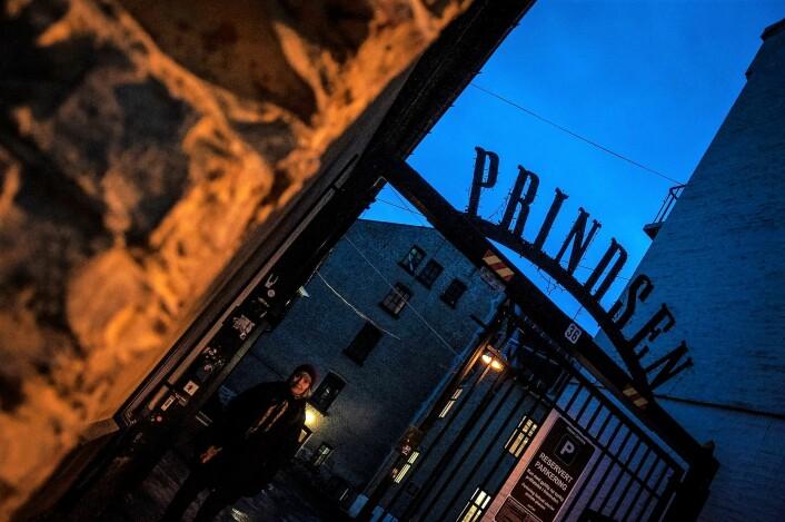 Prindsens inngangsparti. Foto: Henrique Kugler