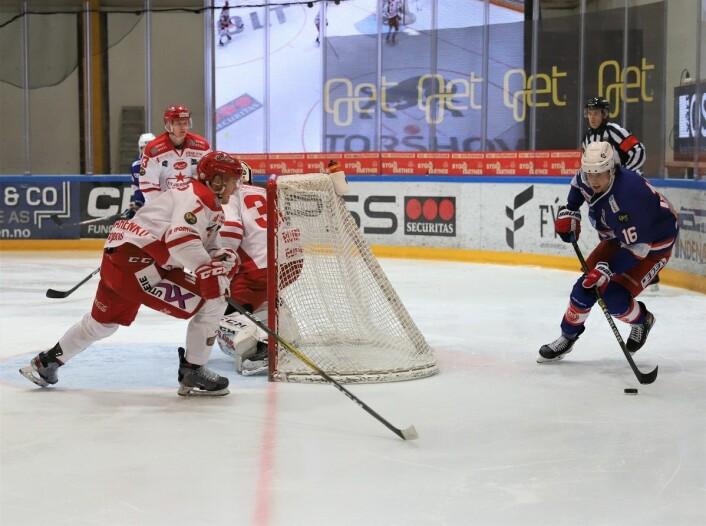Magnus Brekke Henriksen har vært et fint tilskudd i en eller slunken VIF-tropp denne sesongen. Foto: André Kjernsli
