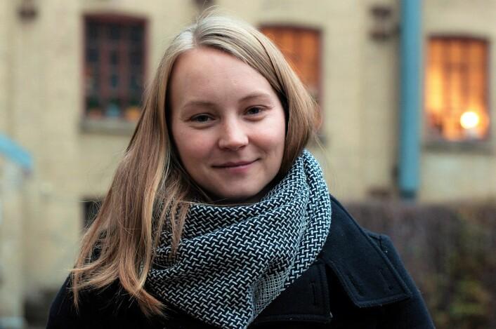 Caroline Juterud kjenner historien til Prindsen på inn- og utpust. Foto: Henrique Kugler
