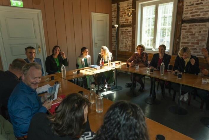 Byrådsforhandlingene til dagens byråd foregikk på den historiske Mangelsgården. Foto. Morten Lauveng Jørgensen