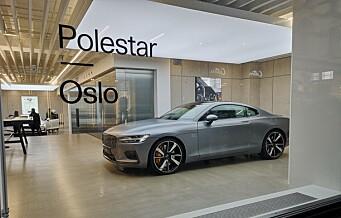 Svensk-kinesisk luksusbil etablerer seg i Oslos Øvre Slottsgate som første stopp utenfor hjemlandet