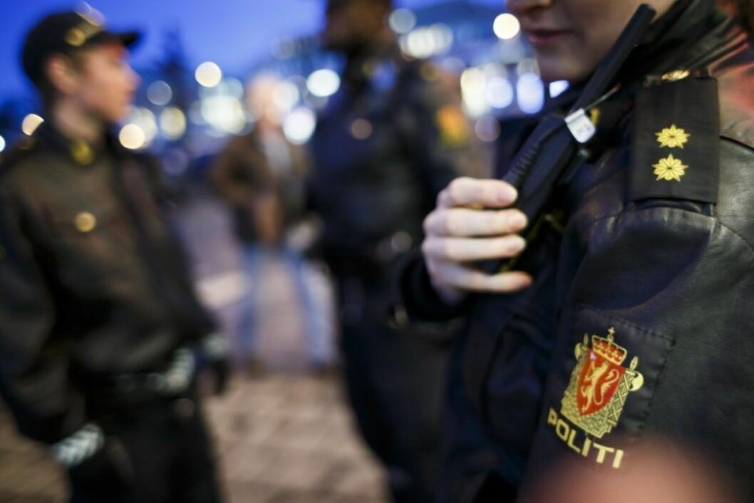 """Mannen ble pågrepet """"på byen"""" på Grønland med et skytevåpen. Foto: Heiko Junge"""