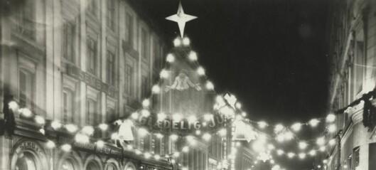 Se de historiske bildene av Oslos julegater