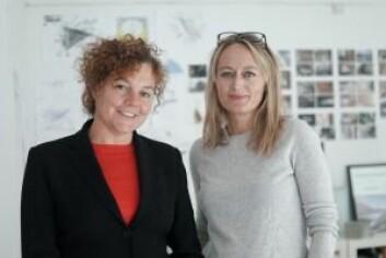 """Arkitektene Cecilie Wille (til v.) og Caroline Støvring var lærte bort og fikk lære av barnas tanker om utviklingen av Filipstad. Foto: <a href=""""https://www.nordvikbolig.no/magasinet"""" target=""""_blank"""" rel=""""noopener noreferrer"""">Nordvik Magasinet</a>"""