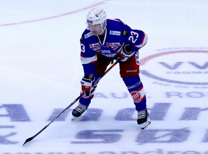 Mats Trygg kan måtte stå over kampen mot Narvik på søndag, på grunn av skader. Foto: Atle Enersen