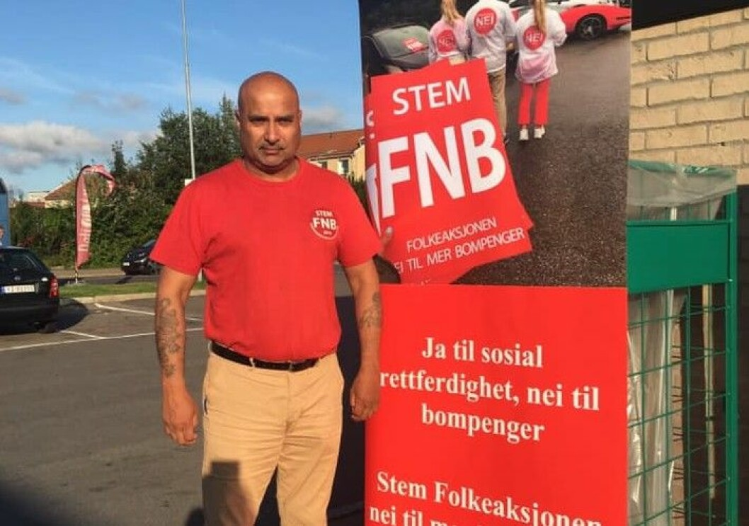 Danny Chaudhry drev valgkamp for FNB og ble valgt inn i bystyret på partiets liste før han trakk seg og ble såkalt uavhengig representant. Foto: VårtOslo