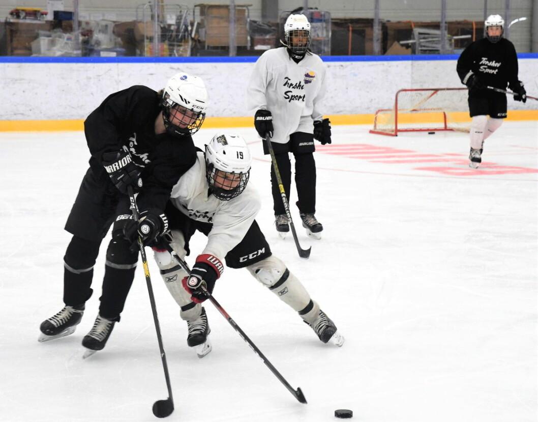 Til sommeren kan unge hockeyspillere i hovedstaden stå uten is å trene på. Bymiljøetaten må spare penger og vurderer å kutte tilbudet om sommeris i 2020. Illustrasjonsfoto: Christian Boger