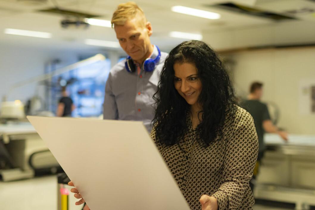 Det er første gang Iffit Qureshi ser bildene på trykk. Foto: Morten Lauveng Jørgensen