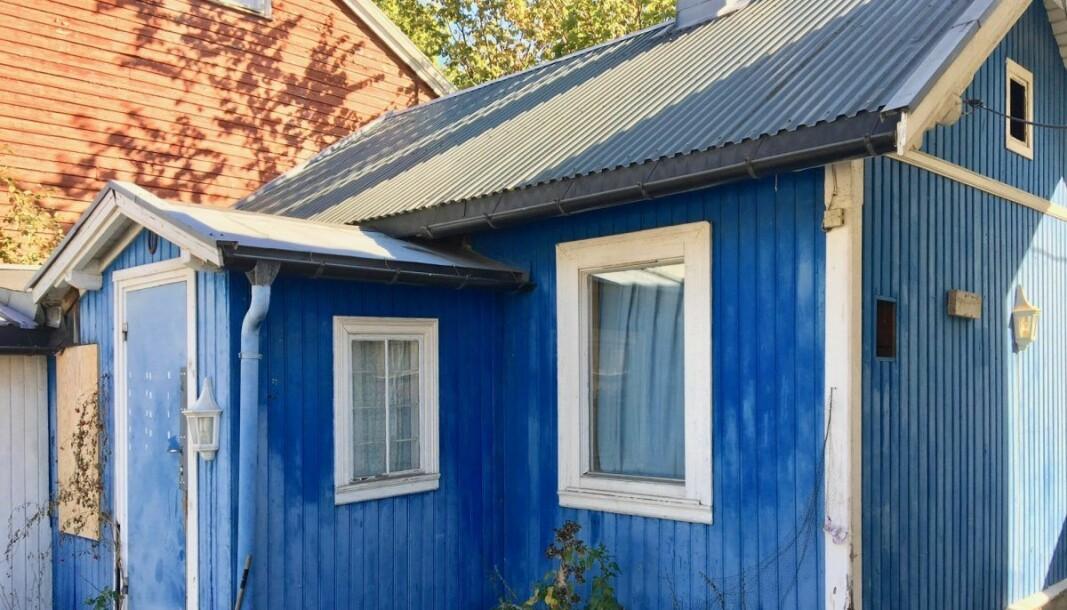Nå har eieren av det blå vernede huset i Hasleveien 6 søkt om rivningstillatelse. — Dette er spekulativt forfall, sier Fortidsminneforeningen
