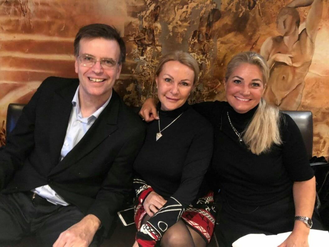 FNBs bystyretroika fra venstre; Bjørn Revil, Britt Fossum og Cecilie Lyngby. Foto: Privat