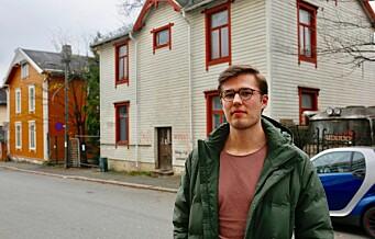 – Kommunen burde gripe inn. Dette huset er til skade for nabolaget, sier Fredrik Flem, styreleder i Rosenhoffgata 2