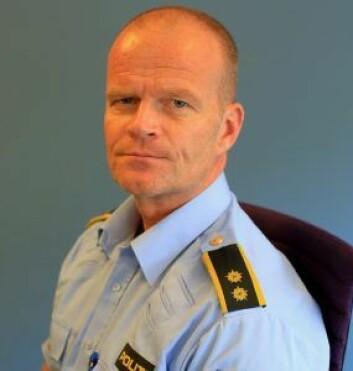 � Bilisten ble stanset av en sivil patrulje, forteller operasjonsleder Sven Christian Lie ved Oslo politidistrikt. Foto: Politiet