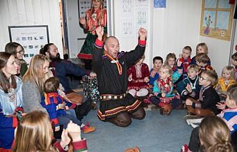 – Kutt ikke i tilbudet til samiske barn. Bevar den samiske barnehagen i Oslo