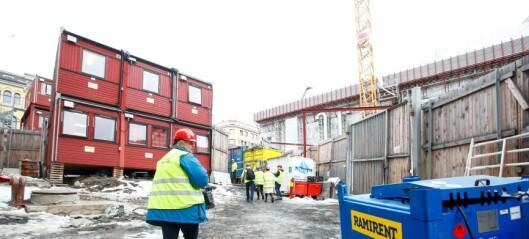 Oslo kommune stiller krav om kjønnsdelte garderober på byggeplassene