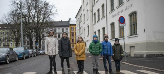 Den nye skolegården ved Gamlebyen skole ett skritt nærmere å bli en realitet