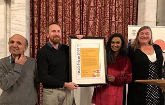 OXLO-prisen for 2019 tildeles Antirasistisk senter