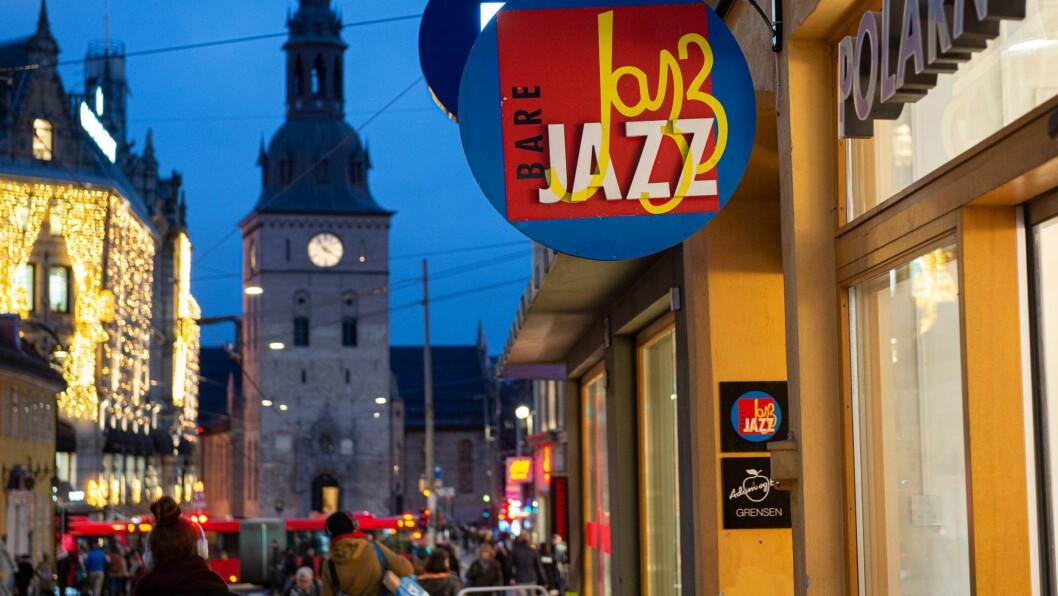 Bare Jazz byr på god stemning noen få trinn inn fra travle Grensen. Foto: Hilde Kari Nylund