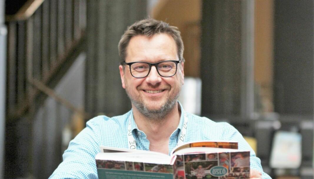 Biblioteksjef Knut Skansen kan slå fast at bøkene og lesningen er viktig for folk, ikke minst i fjor.