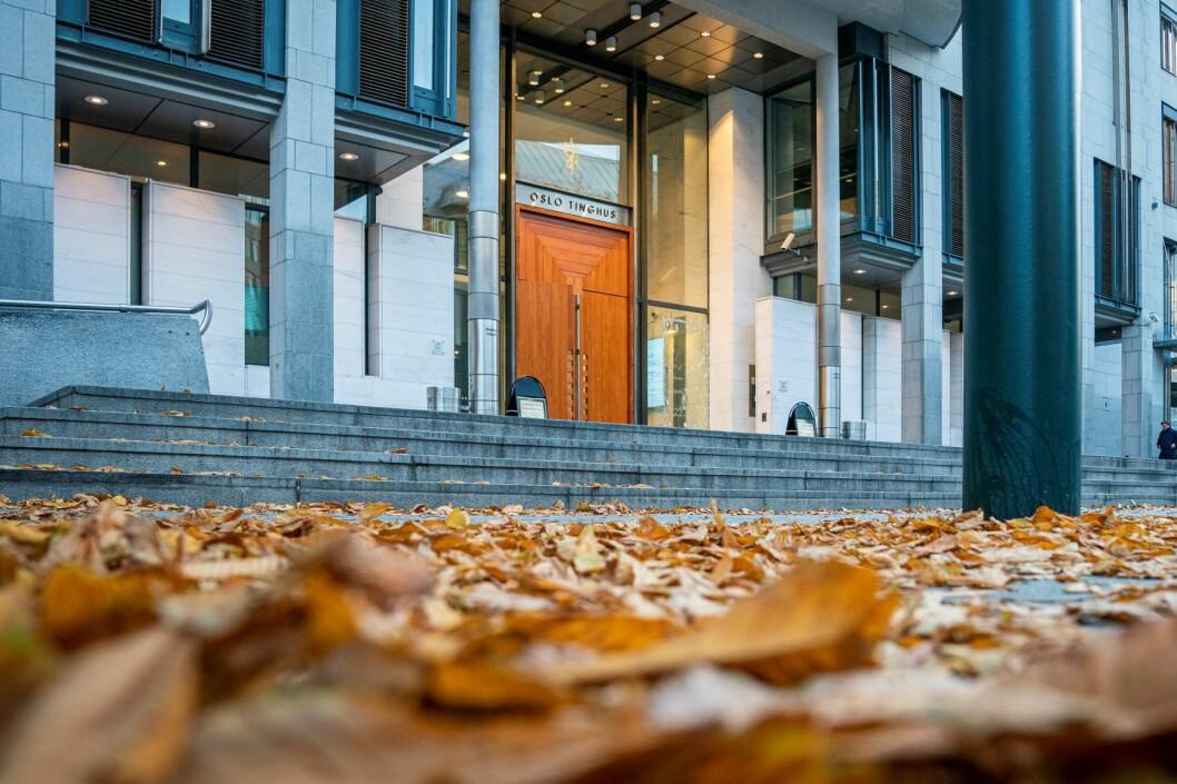 I Oslo tingrett ble den tiltalte litaueren dømt til sju års fengsel. Foto: Heiko Junge / NTB scanpix