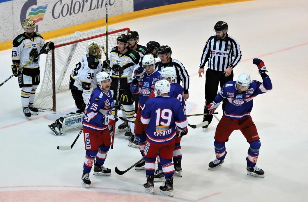 Nei, Enga vant ikke kampen. Men ingen skal si at de ikke prøvde. Foto: André Kjernsli