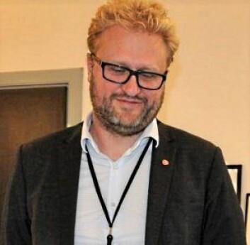 Fungerende byråd for næring og eierskap, Vegar Andersen, lover et grøntområde på den nye brannstasjonstomta. Arkivfoto: Arnsten Linstad