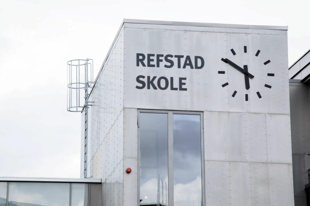 Refstad skole måtte rives bare 14 år etter at den ble bygd i ekspressfart. Foto: Audun Braastad / NTB scanpix