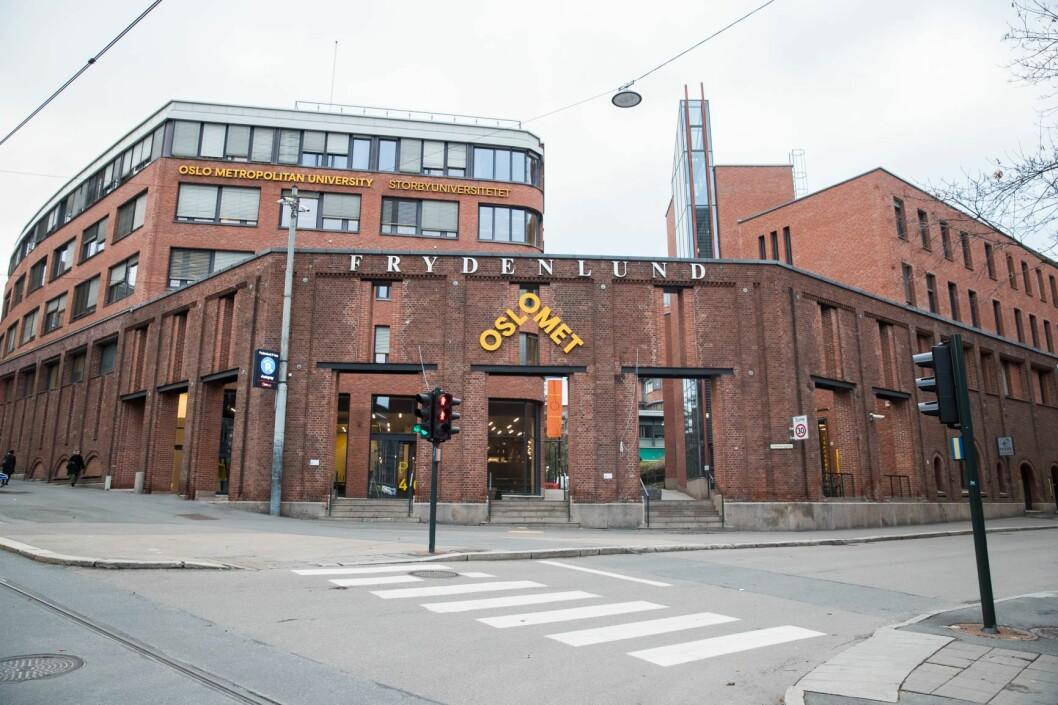 Lærerstudentene ved Oslo Met får tilbud om ny eksamen, som blir arrangert etter jul. Foto: Berit Roald / NTB scanpix
