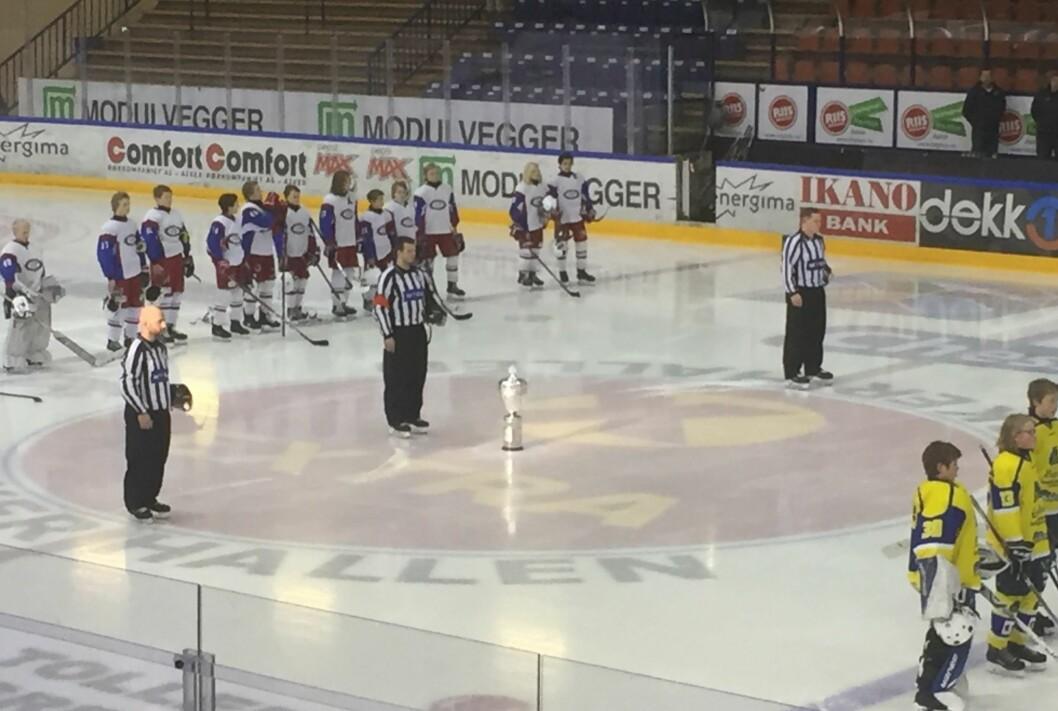 Nå blir det mulig å trene i to ekstra måneder for Oslos hockeylag. Foto: Vegard Velle