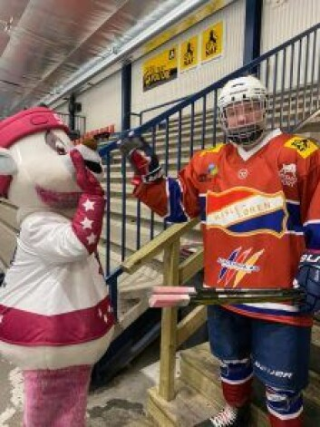 Hasle Løren er et av de mest aktive ishockeylagene i byen, sammen med Vålerenga, Grüner, Furuset og Manglerud Star. Foto: Kine Charlotte Bjerkland
