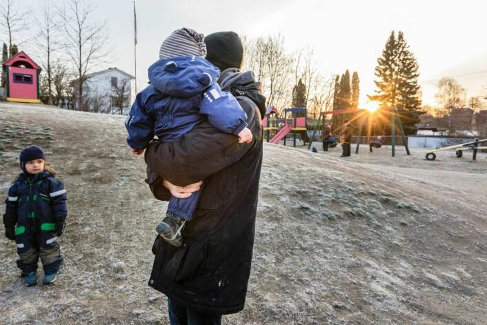 De ansatte i barnehager og sykehjem får stadig mindre vikarbudsjetter å rutte med som en følge av kuttene i bydelsbudsjettet. Foto: Gorm Kallestad / NTB scanpix