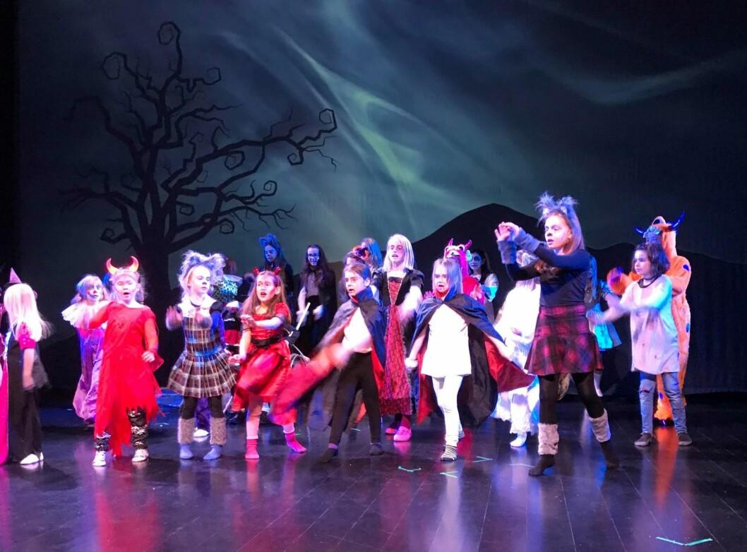 The Nightmare Before Christmas er full humor, spenning og skumle figurer. Foto: Heidi Helen Jenssen