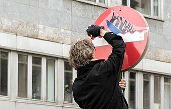 Bymiljøetaten: – Hærverk og lovbrudd. Kulturetaten: – Vellykket kunstprosjekt