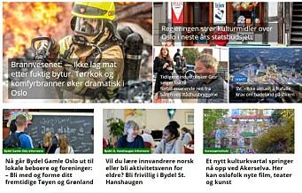 VårtOslo får 600.000 i pressestøtte av Oslo kommune
