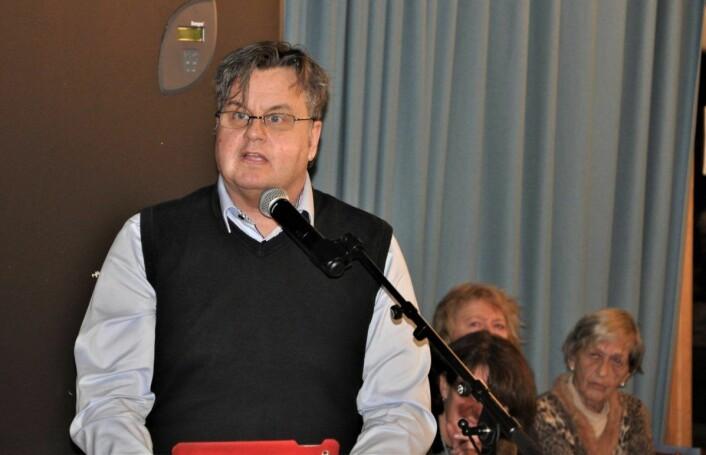 Kjell Johansen (Frp) er veteran som bydelspolitiker i Gamle Oslo. Frp-politikeren fant sammen med Rødt og stemte mot nedleggelse av Utsikten barnehage. Foto: Arnsten Linstad