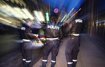 Oslopolitiet rykket ut til mye fyll og slåssing: - Vær snille med hverandre i adventstiden