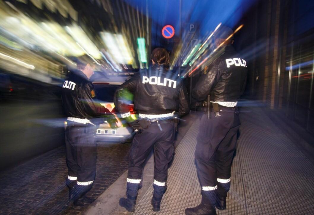� Vi har hatt tilsammen 40 ordensforstyrrelser, hvorav 27 som gått på vold og kroppskrenkelser, opplyser politiet i Oslo. Foto: Heiko Junge / NTB scanpix