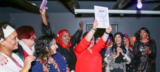 Bydelsmødrene feiret med julebord etter et godt og travelt år