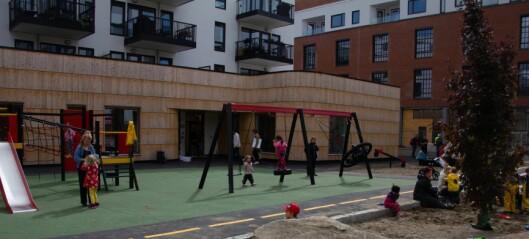 – Den store barnehagebløffen i Oslo