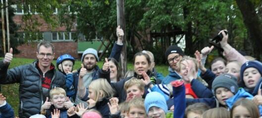 Bolteløkka-elever kan slippe jubelen løs. Enstemmig bystyre sier NEI til bussing og JA til paviljongskole