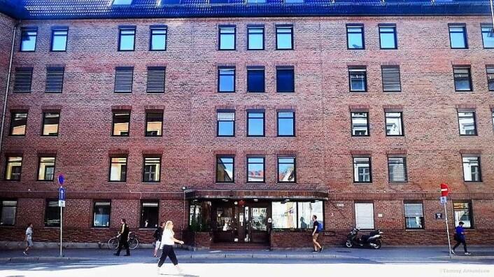 Grunerløkka sykehjem har mange tomme rom og etasjer. Foto: Tommy Amundsen