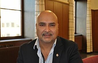 Bystyret kom ikke til enighet om FNB-utbryter Danny Chaudhry skal få beholde 243.000 i støtte