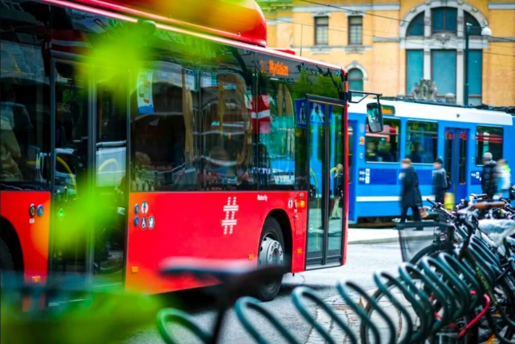 Kollektivtrafikken i Oslo er kraftig utvidet og har hatt en sterk vekst de siste årene. Foto: Ruter