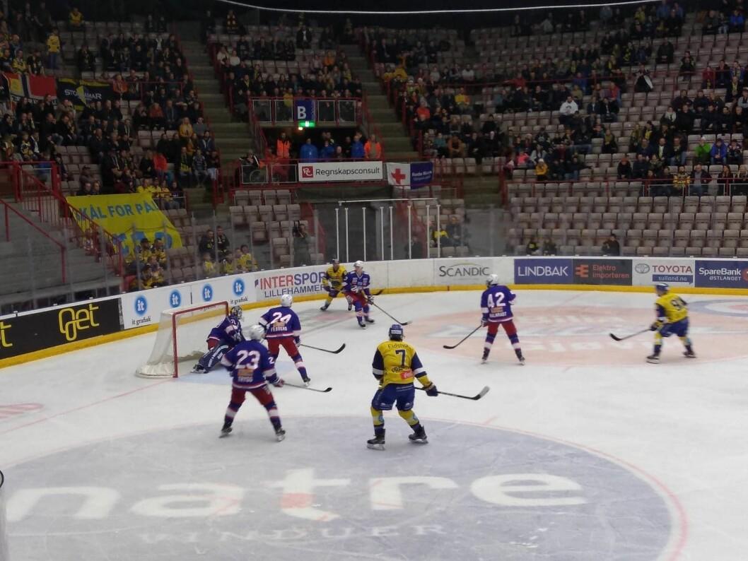 Storhamar endte med å bli et nummer for store for Vålerenga nok en gang lørdag 21. desember. Foto: Arnsten Linstad