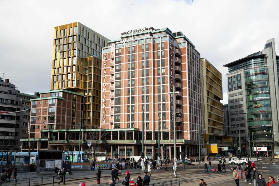 Stordalen-eide Clarion Hotel The Hub er et av Norges største hoteller og ligger ved landets travleste trafikknutepunkt, Oslo S. Foto: Berit Roald / NTB scanpix