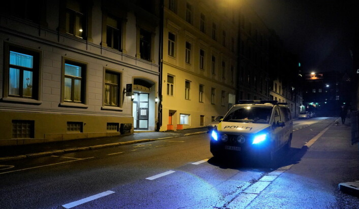 Politiet leter fortsatt etter gjerningsmennene etter en knivstikking i Nordahl Bruuns gate på St. Hanshaugen julaften. Foto: Fredrik Hagen / NTB scanpix