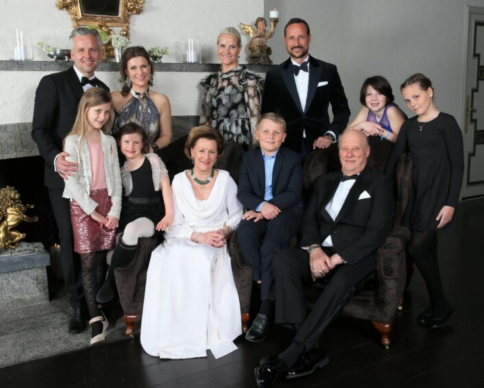 Kongefamilien er i sorg etter at det første juledag ble kjent at Ari Behn hadde tatt sitt eget liv. Foto: Lise Åserud / NTB scanpix